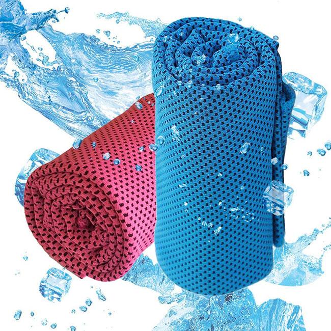 Empleen 冷却タオル 超冷感 クールタオル (2枚セット)