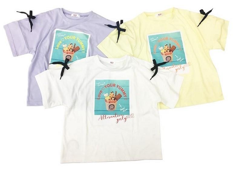 ロールアイスクリームファクトリーALGYコラボTシャツ