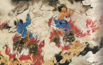 寺で地獄絵図を見て恐れる事がいじめを防止してた時代があった