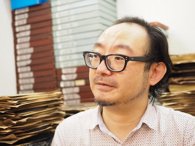 ▲「へたジャズ!」を制作した戦前レコード文化研究家の保利透さん