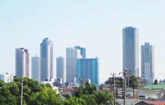 タワマンVS行政区、眼下の周辺マンションと坪単価の格差くっきり