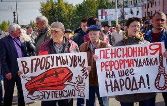 プーチン失脚?年金改革で支持率急落、経済制裁が市民生活を直撃