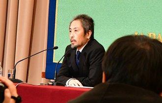 シリア拘束の安田純平さんが記者会見「あきらめたら試合終了」