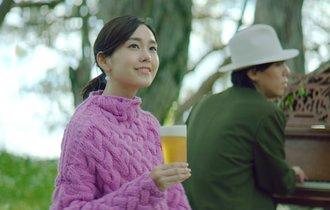 桐谷美玲が「変顔」に挑戦?RADWIMPS野田と共演のCMが超ほっこり