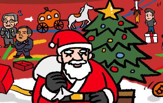 サンタを信じるお子さま大募集!イブの夜、お好きなプレゼントを家までお届け♪