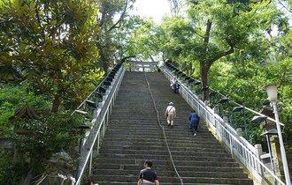 東京23区の最高峰。愛宕神社の石段を登るとなぜ出世するのか?