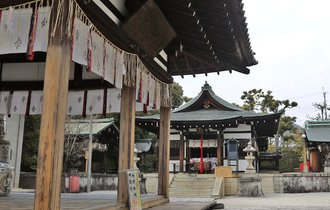 親しまれているから、愛称で呼ばれる。京都にわら天神様を訪ねて