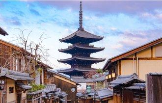 秀吉も見上げた楼閣。この春、京都の空に五重塔と桜吹雪を愛でる