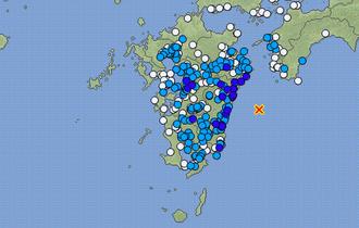 【日向灘と紀伊水道】南海トラフ地震の震源域で5回発生に不安の声