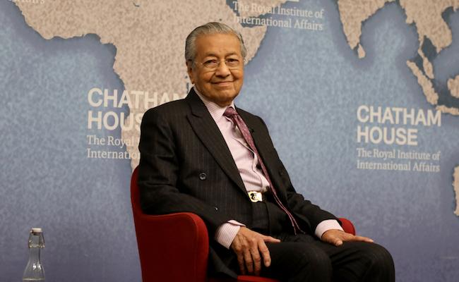 93歳の現役首相マハティールが日本へ警告「中国には協力するな」