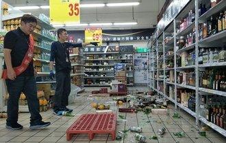 【台湾で震度7】M6.1地震が花蓮で発生。1人死亡、SNSに被害写真も