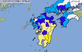【日向灘M6.3】南海トラフ地震の震源域で震度5弱発生に不安の声