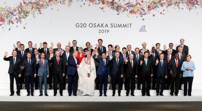 (Osaka - Japão, 28/06/2019) Presidente da República, Jair Bolsonaro, durante foto de família dos Líderes do G20. Foto: Alan Santos / PR