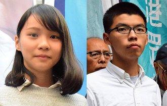 香港デモ「女神」周庭さんと黄之鋒さんを当局が拘束、夜に釈放