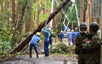 停電も他人事か。台風被害で露呈した森田健作知事の見えぬ「顔」