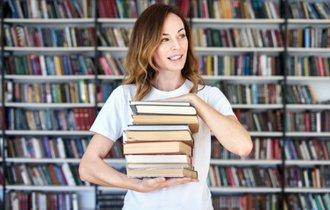 いわゆるひとつのトコロテン方式。読書の秋に本を整理する方法