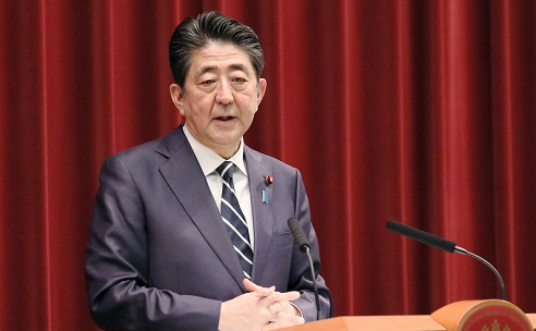 Shinzo_Abe_answering_questions_on_new_imperial_era_name