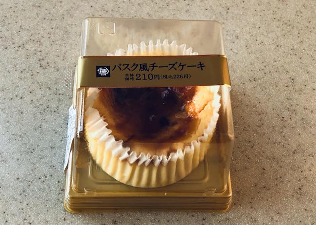 ミニストップ バスク風チーズケーキ