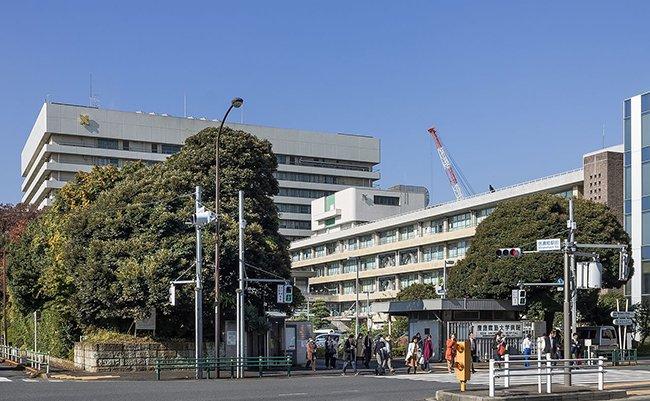 Keio_University_Hospital_2014