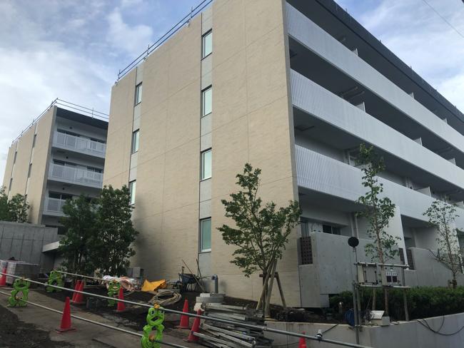 工事中のコーシャハイム新中野テラス