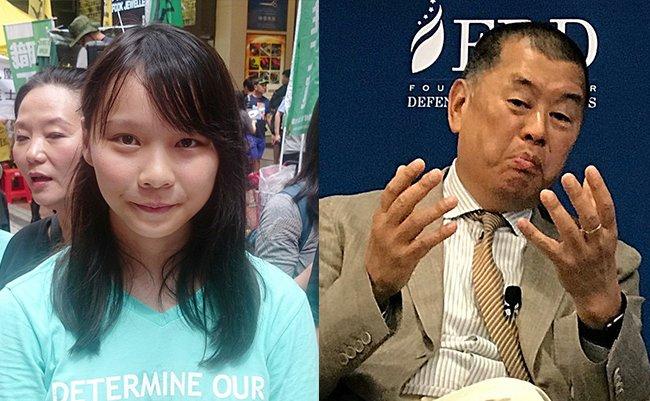 中国に屈せぬ周庭と黎智英は共産党に殺されるのか?日本よ香港の勇者を守れ