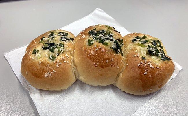 ※注:これは本物の台湾ねぎパンです