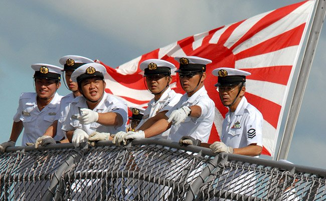 071015-N-4965F-006 PEARL HARBOR, Hawaii (Oct. 15, 2007) - Sailors aboard Japanese destroyer JS KONGO (DDG 173) watch pierside line handlers as the ship moors pierside Naval Station Pearl Harbor. Kongo is the first Japanese ship with the capability to detect, track and intercept short- to medium-range ballistic missiles. Later this year, Kongo is scheduled to conduct a flight test designated Japan Flight Test Mission-1, at Pacific Missile Range Facility, Hawaii. U.S. Navy photo by Mass Communication Specialist 1st Class James E. Foehl (RELEASED)