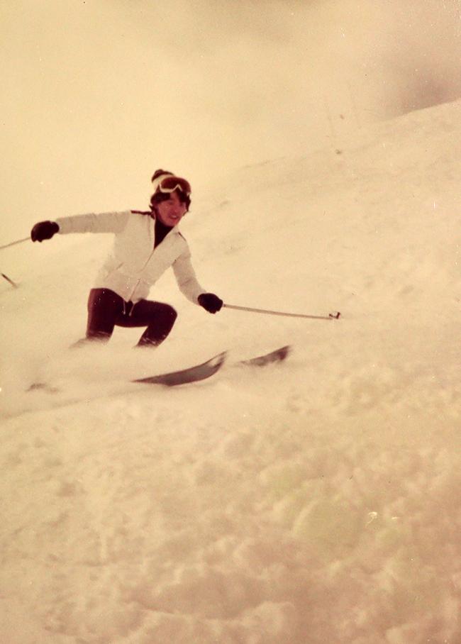 スキーのインストラクターを始めた頃