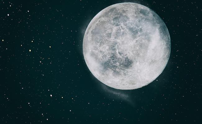 Full,Moon,With,Stars,ÿú,Dark,Black,Sky,At,Night